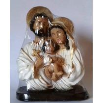 Sagrada Família Em Gesso 15cm Kit C/ 10 Imagens Frete Grátis
