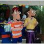 Muñecotes De Phineas Y Ferb Disfraces, Traje Venta