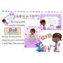 Kit Imprimible Doctora Juguetes Candy Deco Cumples Bautismo