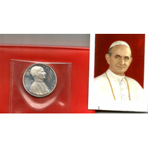 Moneda Del Vaticano Papa Paulo Vi