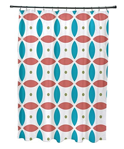 e por diseño bola beach imprimir geométrica cortina de