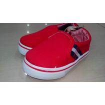 Zapatos T Polo Vans Keds Casuales Deportivos Remate Mocasin