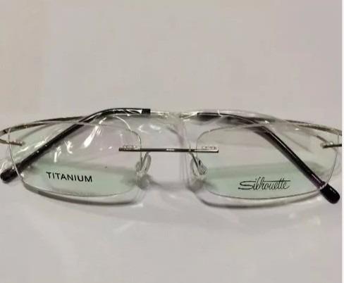 Armacao Óculos De Grau Beta Titanium Silhouette Sem Aro - R  79,00 em  Mercado Livre 61b757cb38