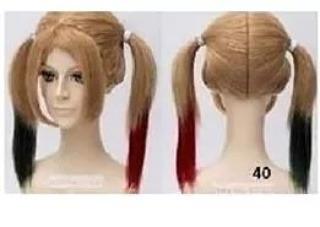 Peluca pelucas harley quinn joker cosplay disfraz anime u en mercado libre  jpg 320x227 Mercado libre ea2f40bf16b9