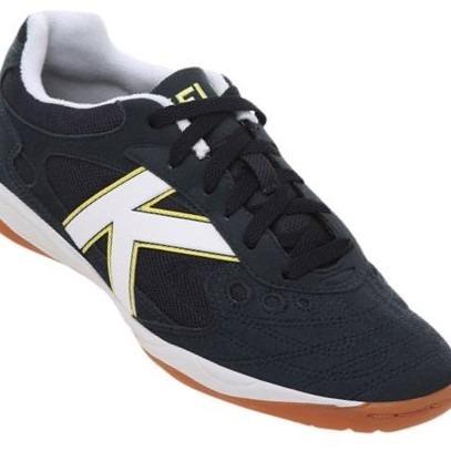 98bd83dd54f Tenis Marinho Futsal Masculino Kelme Indoor Copa - R  289