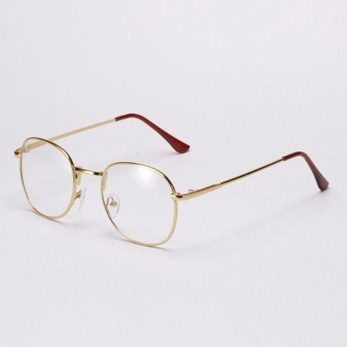 Óculos De Armação De Metal De Grau Unissex Varias Cores - R  44,99 em  Mercado Livre 29f8be112d