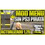 Mod Menu Gta V Online 1.27 1.34 Sin Ps3 Pirata Envio Gratis