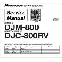 Manual De Serviço Todos Mixer E Cdj E Ddj Pioneer E Technics