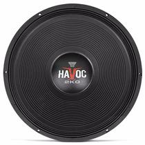 Woofer Oversound Havoc 18 Pol 2k0 1000w Rms Sub Grave Som Sc