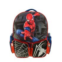 Mochila Espalda Spiderman Hombre Araña 3d 30x25cm Original