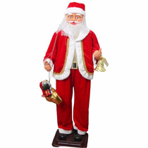 Papai Noel Boneco Enfeite Natal Dancante Musica Decoracao