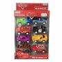 Pack 8 Autitos Cars Disney Coleccionables Ditoys Original