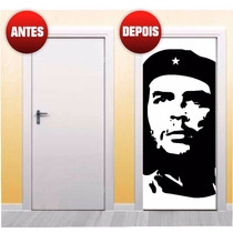 Adesivo Decorativo Para Porta Che Guevara X4adesivos (pp10)