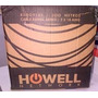 Cable Telefónico Ramal Tipo F 1 Par 2x18 Awg Howell Network