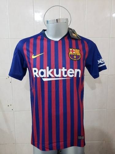 Camiseta Del Barcelona Tradicional 2018 19 Con 25% Dto -   119.000 en  Mercado Libre 55ad970ef47b9
