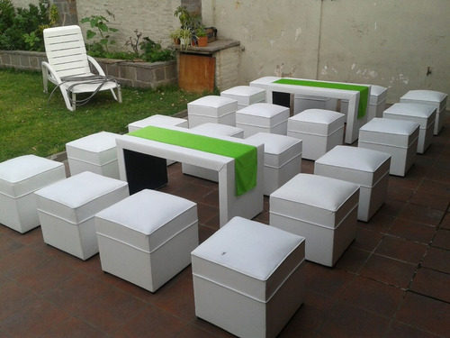 Alquiler de living puff butacon mini puff gazebos sillas for Sillas para living