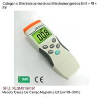 Medidor Gauss De Campo Magnetico Elf Emf 30~300hz