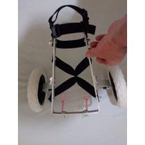 Mini Cadeira De Rodas Para Cachorros Pequenos Até 4 Kg