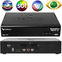 Receptor De Tv Sat Hd Regional Usb Hdmi Midiabox B2 Century