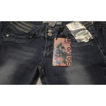 Jeans Pantalones Strech Damas Salvaje Quality Moda Urbana