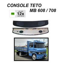 Console Teto Caminhão Mb 608 708 Som Alto Falante