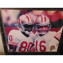 Cuadro Joe Montana & Jerry Rice San Francisco 49ers Sports