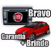 Kit Central Multimidia Fiat Bravo Phone Gps Dvd Cam Ré Tv Bt