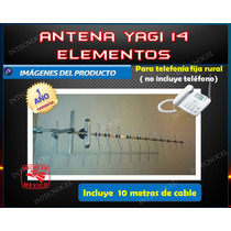 Antena Yagi 14 Elem.telefonia Fija Rural 800-900