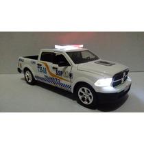 Dodge Ram Patrulla De Transito D.f. Con Luz Esc. 1:24