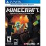 Juego Psvita Minecraft Nuevo Sellado! Codigo Para Descarga