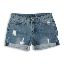 Short Mini Micro Jeans Feminino Rasgado Desfiado Destroyed