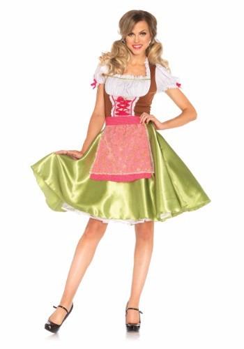 Disfraz Traje Dirndl Aleman Alemania Oktoberfest Para Damas -   1 2fc00c4327b