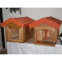 Casas De Madera Para Mascota (pet House) 40 X60 X60