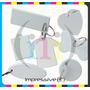 Llavero Para Sublimar De Plastico Con Argolla X 20 Unidades