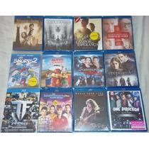 Kit C/ 12 Filmes Blu-ray: Senhor Dos Anéis/crepúsculo/smurfs
