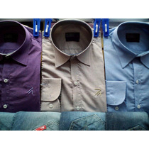 Kit 3 Camisas Social Ricardo Almeida Lisa Ra888