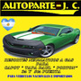 Kit Resortes Neumáticos Jeep Cherokee Porton/ventanill 93/98