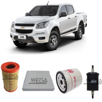 Kit Filtros Gm Chevrolet S10 2.4 Flex 147cv Ano 2012 A 2014
