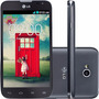 Lg L70 D325 Preto Dual 4gb Fm 3g Wifi 8mp Nf-e | Vitrine