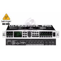Crossover Digital Behringer Dcx2496 , Profesional,el Mejor