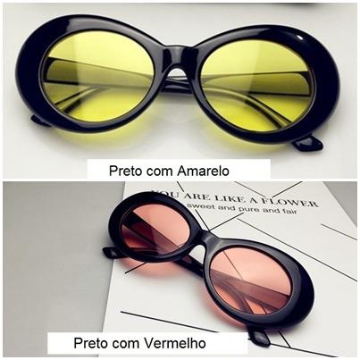 Oculos Sol Kurt Cobain Kit 3 Unidades Nirvana Frete Gratis - R  149,00 em  Mercado Livre a3984bd21a
