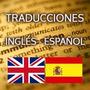 Traducciones Ingles Español... Manuales Y Más