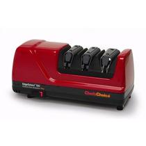 Afilador De Cuchillos Electrico Chefs Choice M120 Rojo