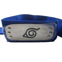 Bandana Naruto Aldeia Da Folha Konoha Azul