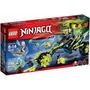 Lego Ninjago 70730 Chain Cycle Ambush Triciclo Moto