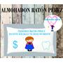 Regalo Para Niños Almohadon Raton Perez