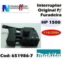 Interruptor Original P/furadeira Hp1500 110/220v Makita