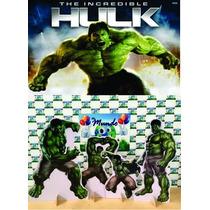 Kit Displays Hulk 8 Peças + Painel 2,00x1,40mt Oferta!