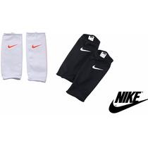 Porta Espinilleras, Sujetador Nike Negro Blanco Y Azul