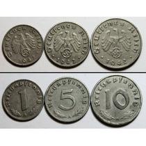 Moneda Alemana Antigua 1918 Y 1942